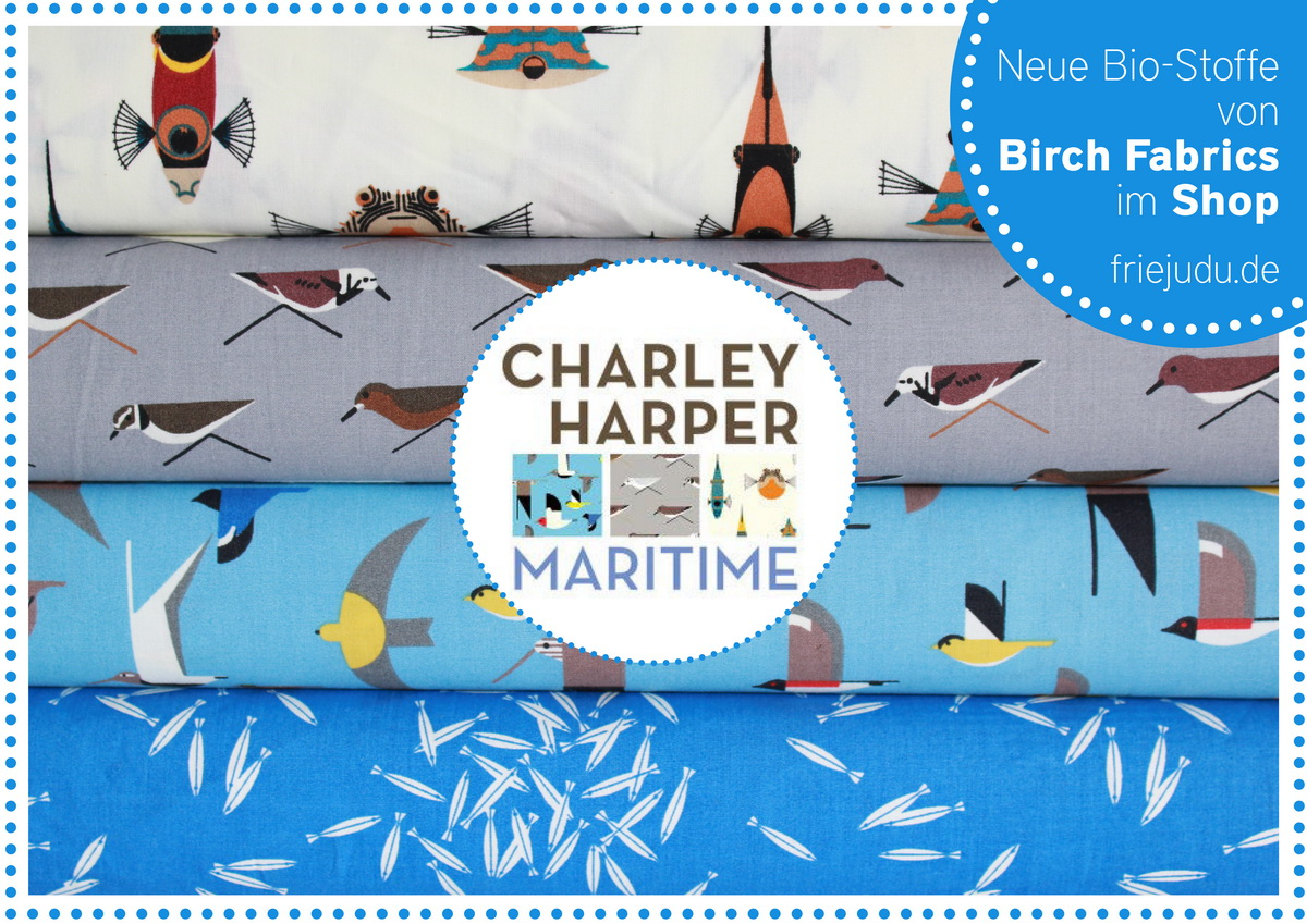 Maritime Stoffe maritime birch fabrics friejudu kinderkleidung und unikate